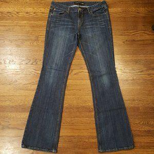 Express Jeans Stella Lowrise Bootcut Jeans 10L